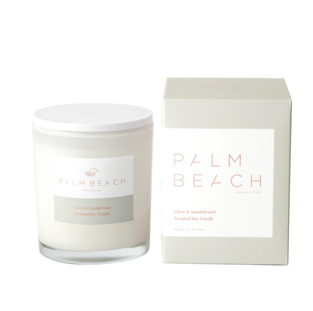 Palm Beach Candle - Clove & Sandalwood 420g