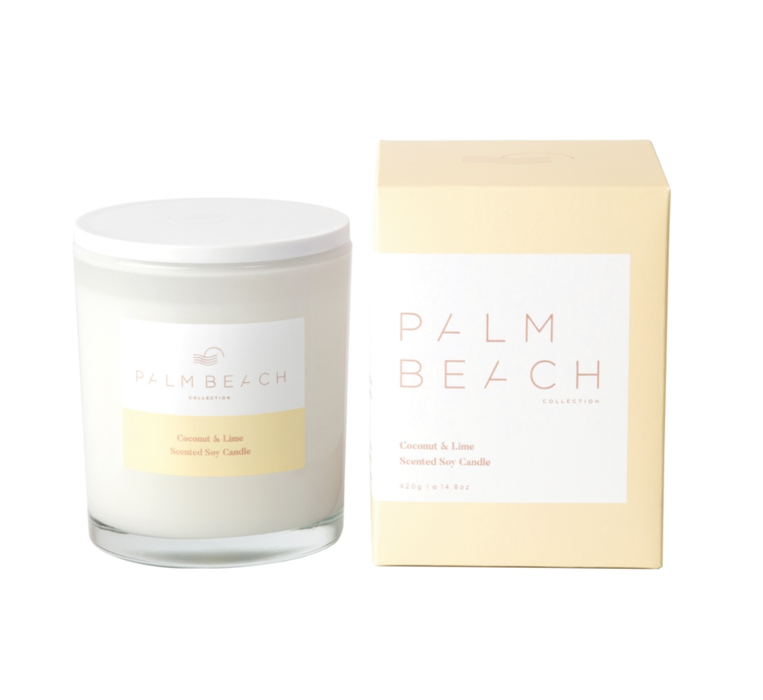Palm Beach Candle - Coconut & Lime 420g