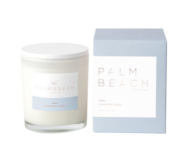 Palm Beach Standard Candle - Linen 420g
